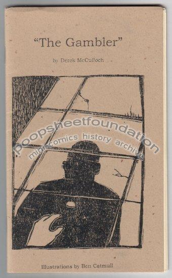 THE GAMBLER mini comic zine BEN CATMULL Derek McCulloch 2002
