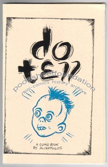 DO TELL mini comix comic TREVOR ALIXOPULOS 2003