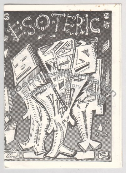 ESOTERIC mini comix BOB X art brut signed numbered 1980s