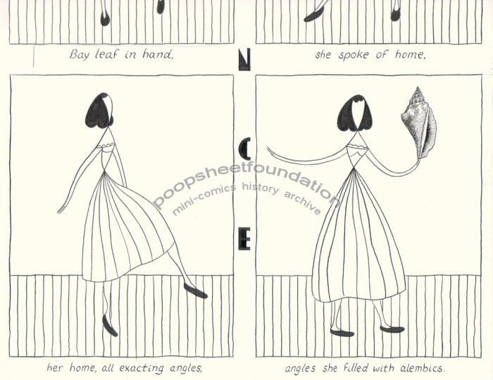 John Hankiewicz ORIGINAL ART Dance ASTHMA comic 2004
