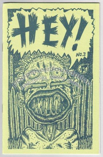 HEY #3 underground comix JEFF GAITHER Michael Roden DAVID TOSH Brad Foster 1986 1st