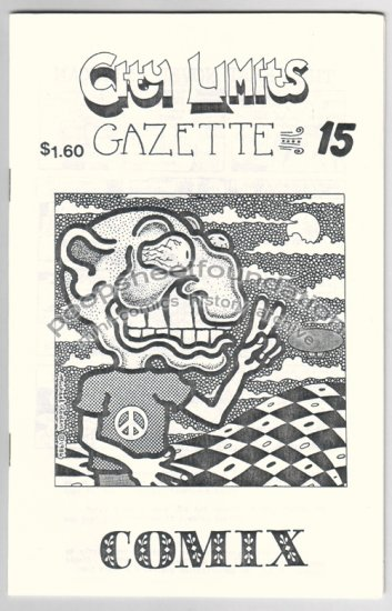 CITY LIMITS GAZETTE #15 all comix issue MICHAEL RODEN Steve Willis GEORGE ERLING 1986