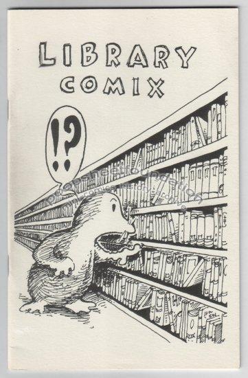 LIBRARY COMIX obscure mini-comic STEVE WILLIS 1987