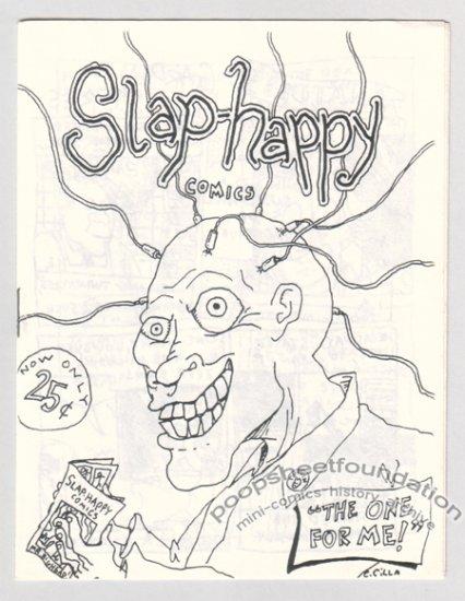 SLAP-HAPPY COMICS mini-comic early CHRIS CILLA 1987
