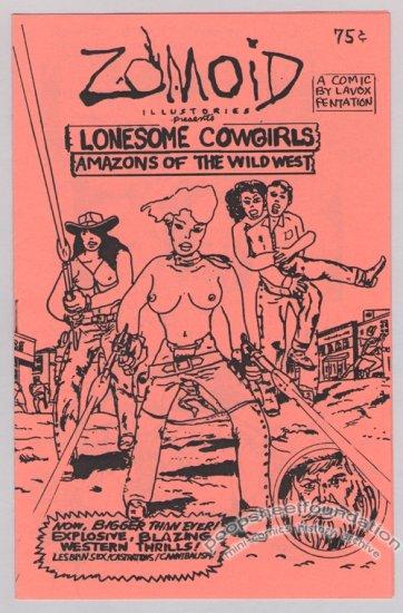 ZOMOID ILLUSTORIES #12 underground comix mini LAVOX PENTATION 1984