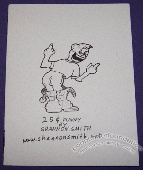 25¢ FUNNY mini-comic SHANNON SMITH