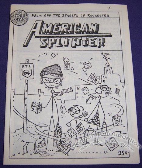 AMERICAN SPLINTER #1 mini-comic ERIC MAYER 1986