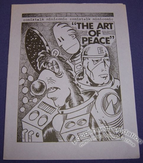 THE ART OF PEACE mini-comix W.C. POPE Comixtalk 1987