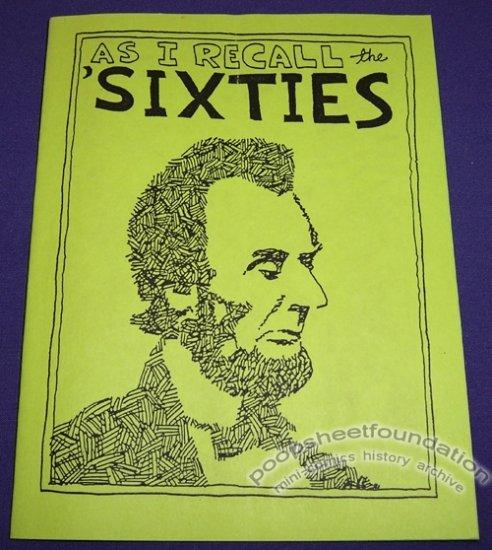 AS I RECALL THE 'SIXTIES mini-comix STEVE WILLIS American History