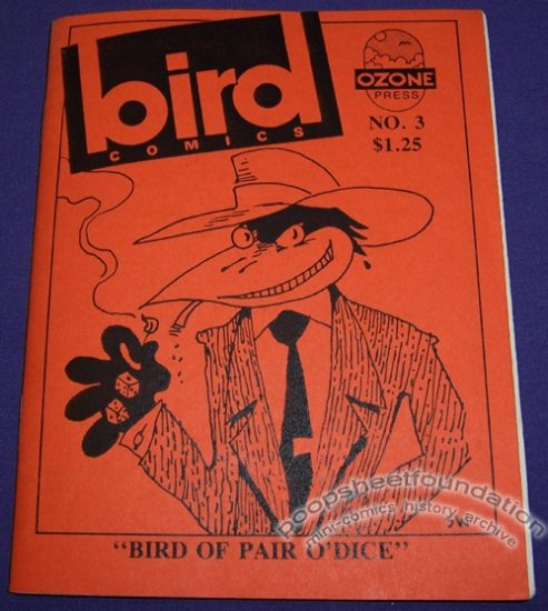 BIRD COMICS #3 mini-comix STEVE WILLIS Joe Hutchinson GARY FIELDS 1986