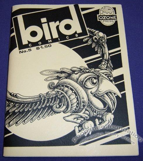 BIRD COMICS #5 mini-comic EDWARD BOLMAN Andy Nukes WAYNO Joe Hutchinson 1987