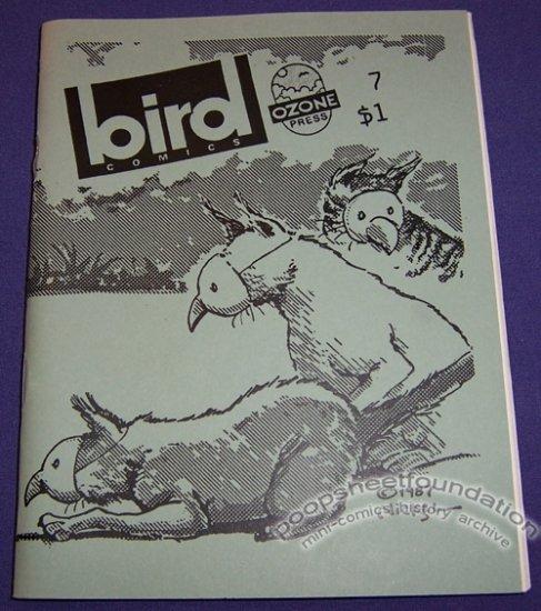 BIRD COMICS #7 mini-comix JOE HUTCHINSON Brad Foster BILL SHUT 1989