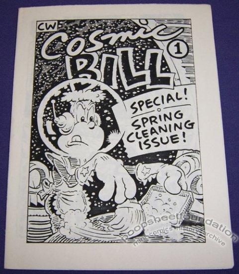 COSMIC BILL #1 underground comix BRAD CASLOR Comix Wave 1980s