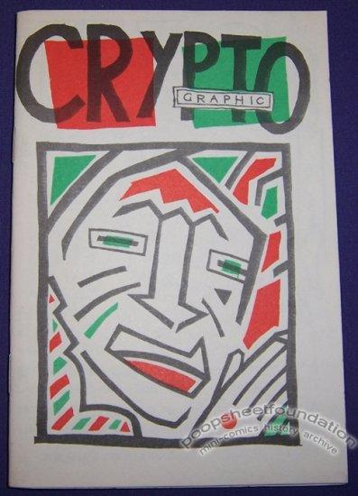 CRYPTO GRAPHIC Australian art brut comix JULIAN BALL Steve Bond 1980s
