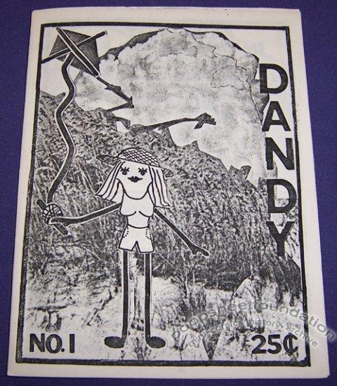 DANDY #1 mini-comic KATHY MAYER 1986