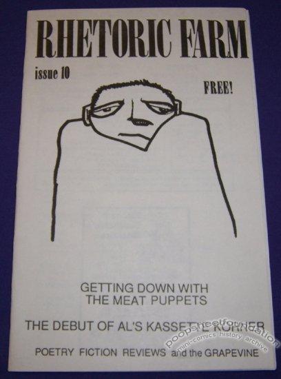 RHETORIC FARM #10 comix zine ROY TOMPKINS Meat Puppets 1987