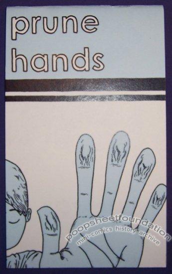 PRUNE HANDS mini-comic MARIO VAN BUREN 2009