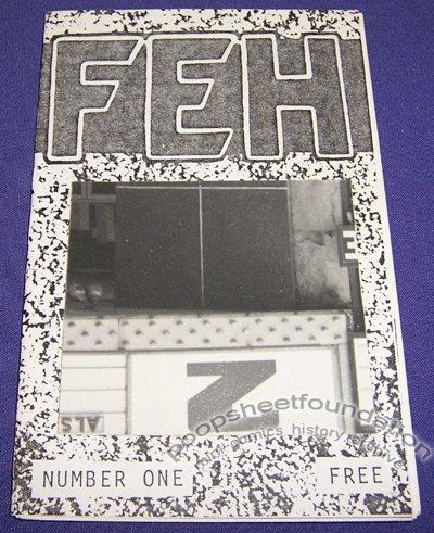FEH #1 mini-comic MARK D JANICKO comix 1987 ed of 50