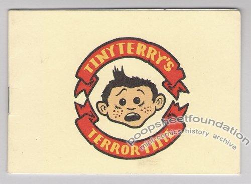 TINY TERRY'S TERROR TIME mini-comic TOBY MORRIS New Zealand 2002