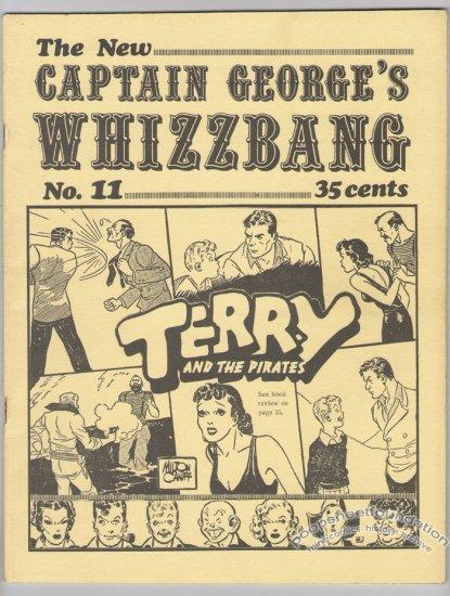 CAPTAIN GEORGE'S WHIZZBANG #11 Canadian comics fanzine 1971