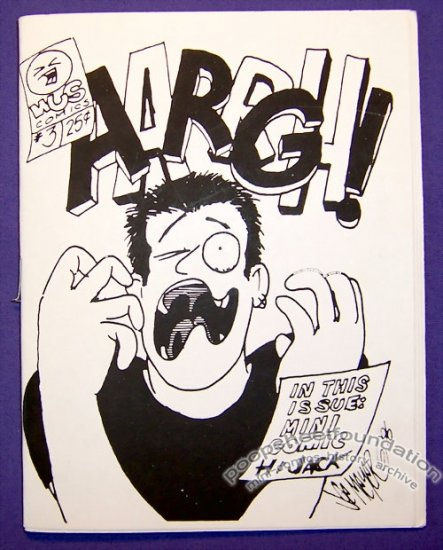 AARRGH #3 mini-comic JOE MEYER minicomic 1996