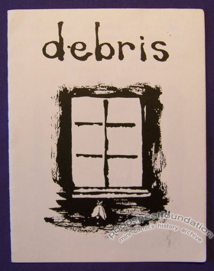 DEBRIS mini-comic CHAD WOODY minicomic