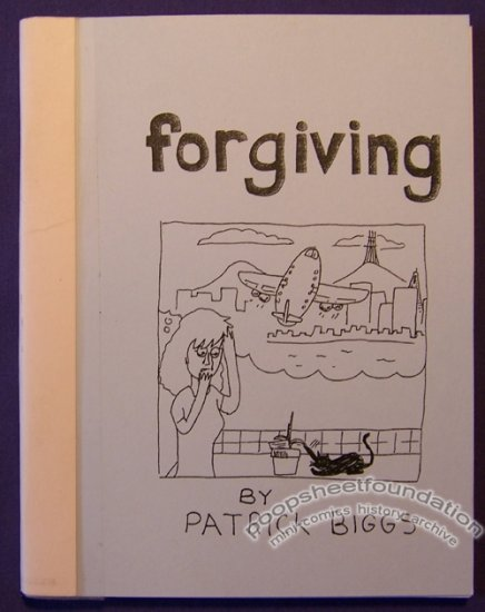 FORGIVING mini-comic PATRICK BIGGS minicomic 2008