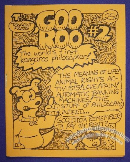 GOO 'ROO #2 mini-comic ROB STURMA Andrew Kyle 1987