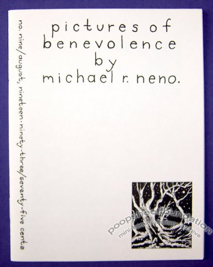 PICTURES OF BENEVOLENCE #9 mini-comic MICHAEL R. NENO 1993