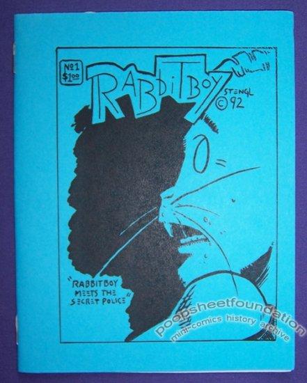 RABBITBOY #1 mini-comic BRUCE STENGL minicomic 1992