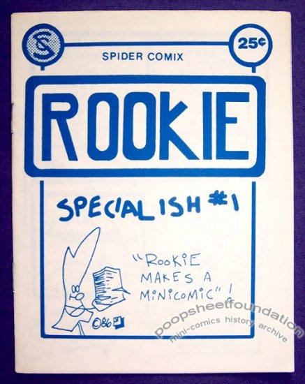 ROOKIE SPECIAL #1 mini-comic JON TEGNELL minicomic 1986