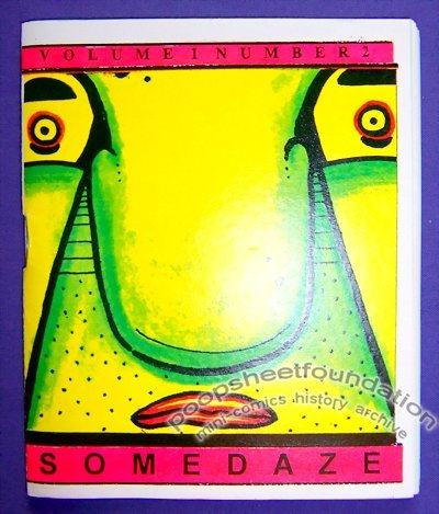 SOMEDAZE #2 mini-comic T. WEIER minicomics 1995