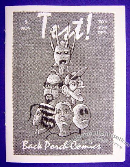 TEST #3 mini-comic BOB CORBY small press 1996