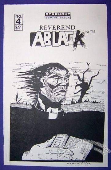 REVEREND ABLACK #4 mini-comic CHRIS ERWIN small press 1994