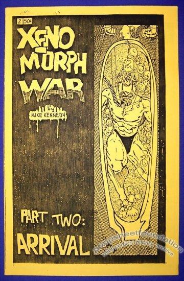XENO MORPH WAR #2 mini-comic MIKE KENNEDY 1990