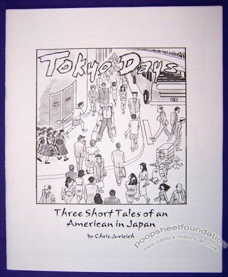 TOKYO DAYS mini-comic CHRIS JURICICH minicomic 2001