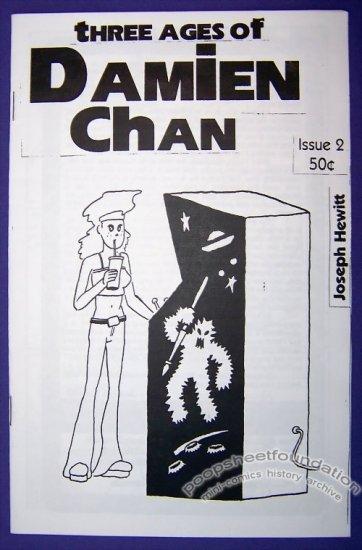 THREE AGES OF DAMIEN CHAN #2 Canadian mini-comic JOSEPH HEWITT 1998