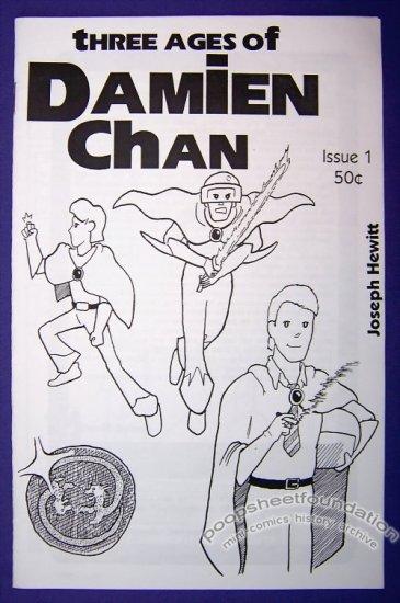 THREE AGES OF DAMIEN CHAN #1 Canadian mini-comic JOSEPH HEWITT 1998