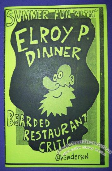 SUMMER FUN WITH ELROY P. DINNER mini-comic SAM HENDERSON 2007