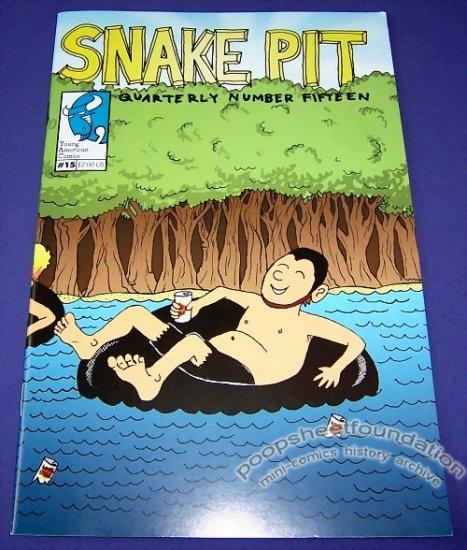 SNAKE PIT QUARTERLY #15 mini-comic BEN SNAKEPIT 2005