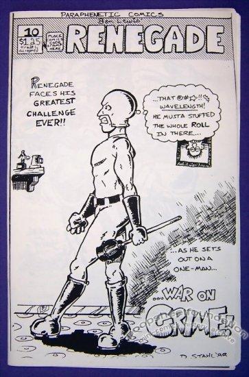 RENEGADE #10 mini-comic AL FRANK Tim Vigil DARRYL YOUNG 1988