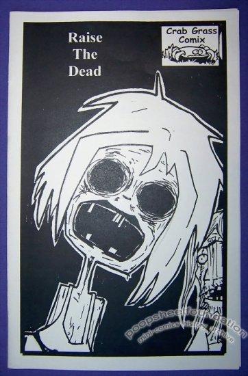 RAISE THE DEAD mini-comic RYAN HOLGERSON Nathan Brewer 2003