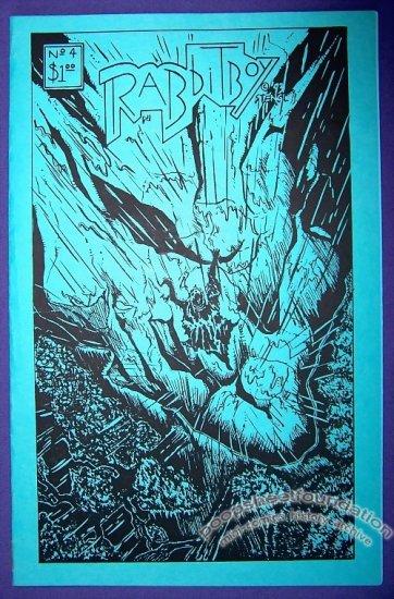 RABBITBOY #4 mini-comic BRUCE STENGL minicomic 1993