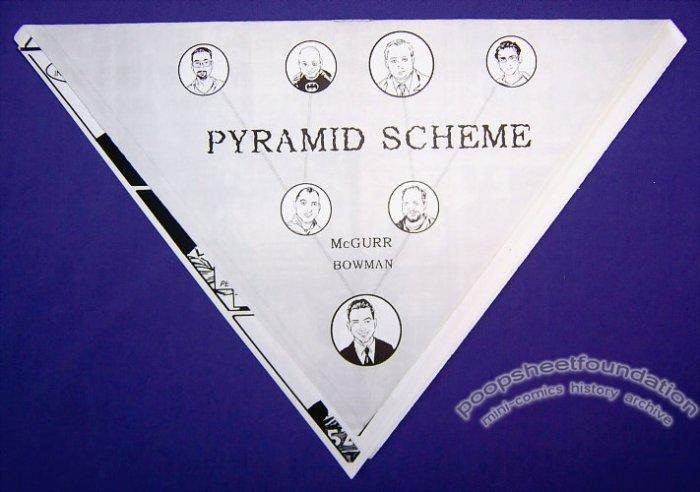 PYRAMID SCHEME mini-comic SEAN McGURR Brent Bowman 2008