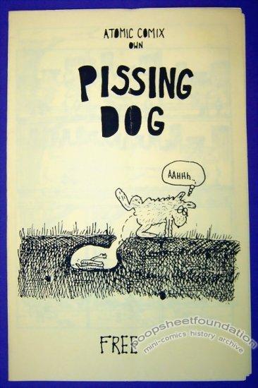 PISSING DOG mini-comic NIMROD minicomix 1986