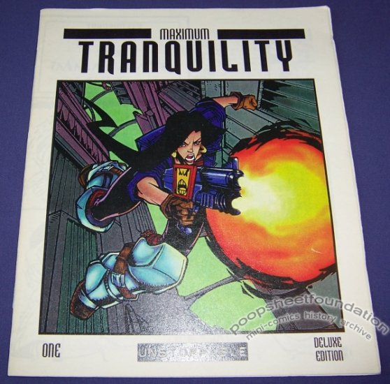 MAXIMUM TRANQUILITY #1 mini-comic FRED VAN LENTE Steve Ellis 1997