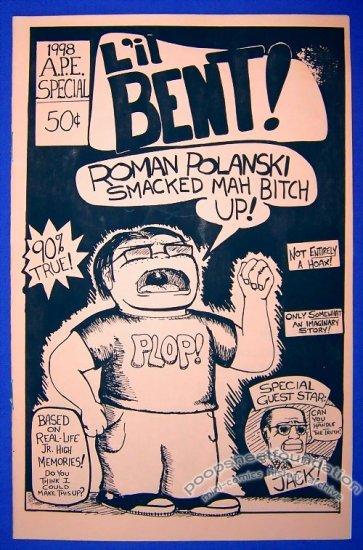 L'IL BENT mini-comic BEN T. STECKLER minicomic 1998