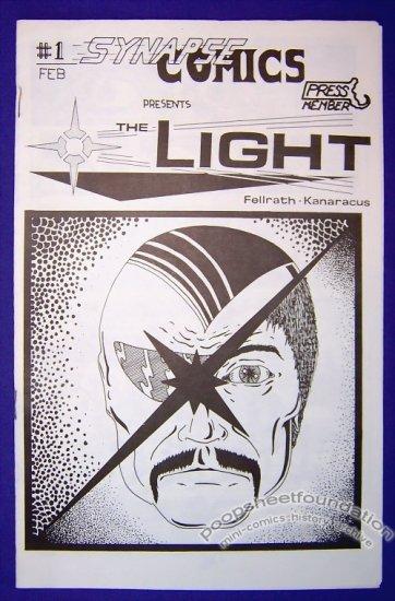 THE LIGHT #1 mini-comic MATT KANARACUS Tom Fellrath 1987