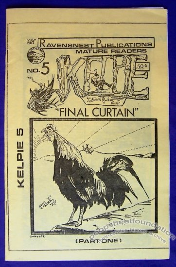 KELPIE #5 mini-comic DAVID PUCKETT minicomic 1987