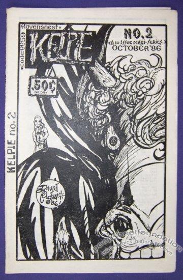 KELPIE #2 mini-comic DAVID PUCKETT minicomic 1986